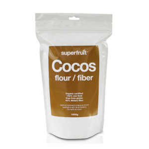 ersätta vetemjöl med kokosmjöl