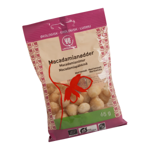 Macadamianötter från Urtekram