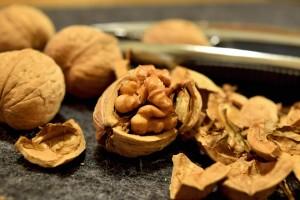 Valnötter med skal