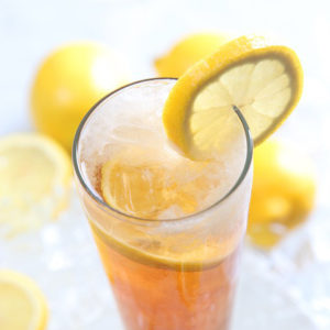Lemonad med björksocker