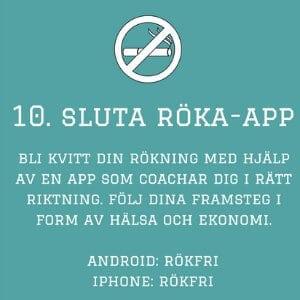 app sluta röka