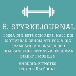 styrketraning app
