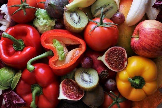 Kostfiber grönsaker frukt bär